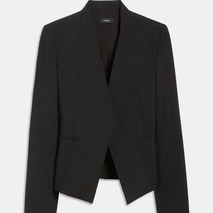 Theory Lana black blazer size 2